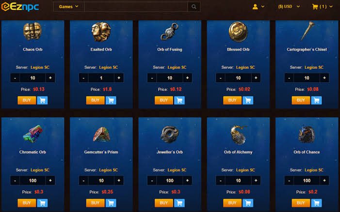 Path Of Exile Currency For Sale, PoE Goods Trading, Purchase PoE Orbs