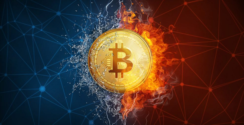 How does the bitcoin trend app work?